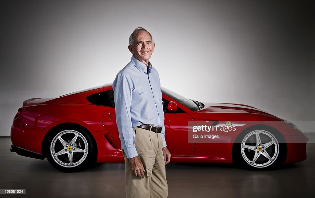 Rory Byrne at Viglietti-motors in Bryanston, on December 19, 2012, in Johannesburg, South Africa. Rory was the head designer of Ferrari's F1 vehicles for 15 years.