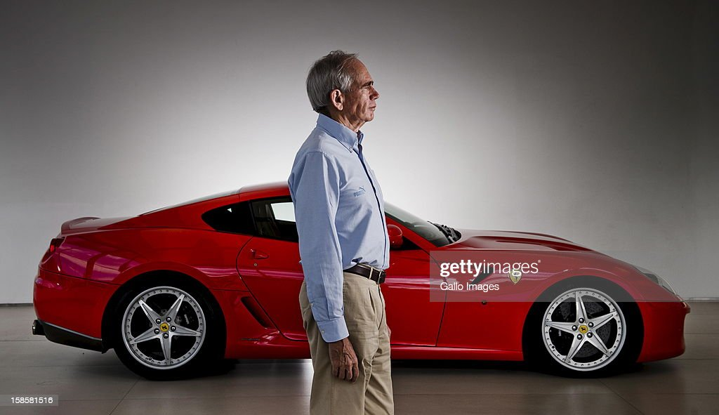 Rory Byrne at Viglietti-motors on December 19, 2012, in Johannesburg, South Africa. Rory was the head designer for Ferrari's F1 vehicles for 15 years.