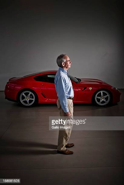 Rory Byrne at Vigliettimotors on December 19 in Johannesburg South Africa Rory was the head designer of Ferrari's F1 vehicles for 15 years