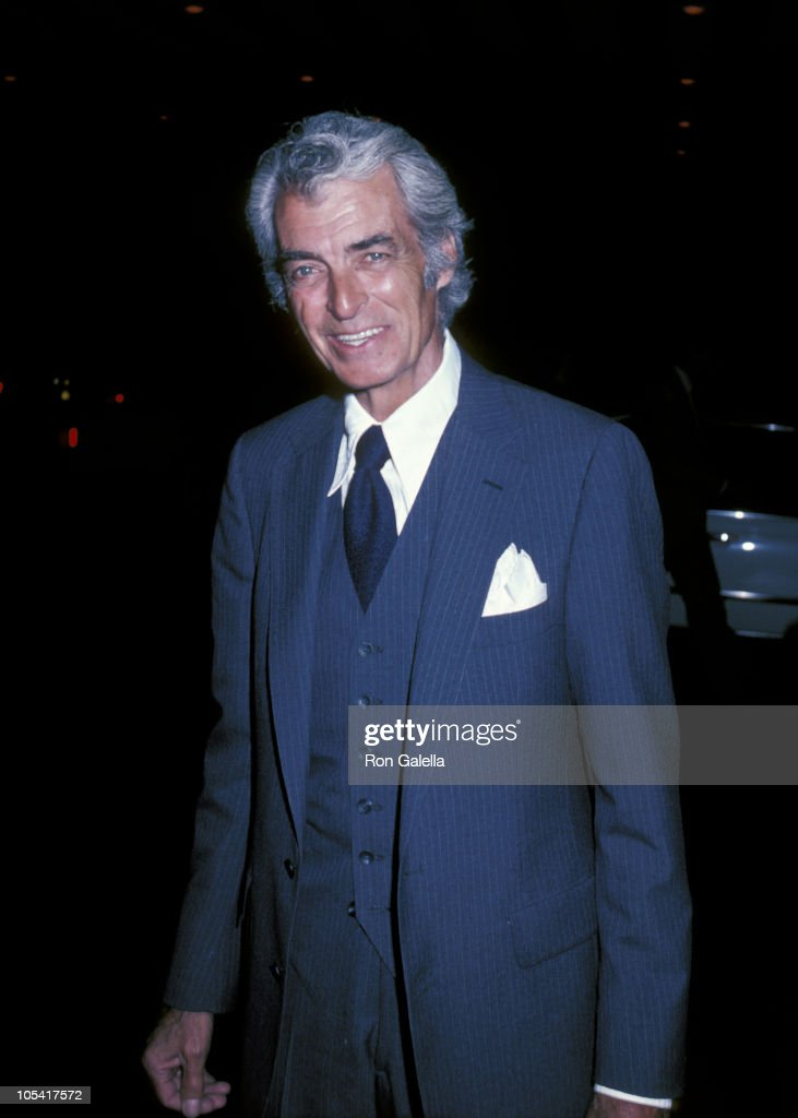 Rory Calhoun during Soap Opera Digest Magazine Party April 8 1982 at Beverly Hills Hotel in Beverly Hills California United States