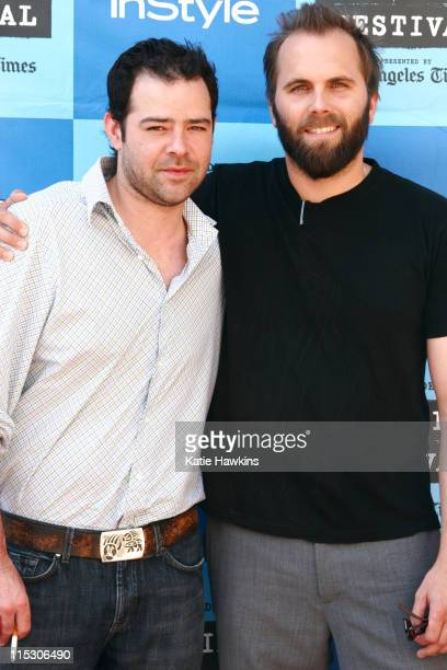 Rory Cochrane and Chris Gorak Director during 2006 Los Angeles Film Festival 'Right at Your Door' Screening at Mann Festival Theatre in Los Angeles...