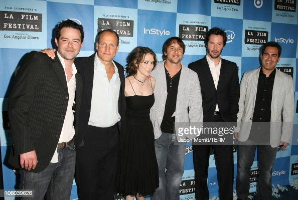 Rory Cochrane Winona Ryder Woody Harrelson Richard Linklater Keanu Reeves and Tommy Pallotta