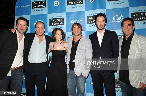 Rory Cochrane Woody Harrelson Winona Ryder Richard Linklater director Keanu Reeves and Tommy Pallotta producer