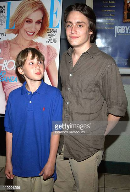 Rory Culkin and Kieran Culkin during 'Igby Goes Down' Screening at United Artists Theatre in Southhampton New York United States