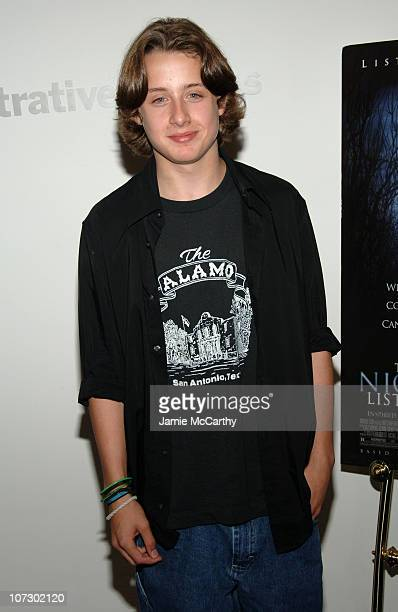 Rory Culkin during 'The Night Listener' New York City Premiere Arrivals at MoMa in New York City New York United States