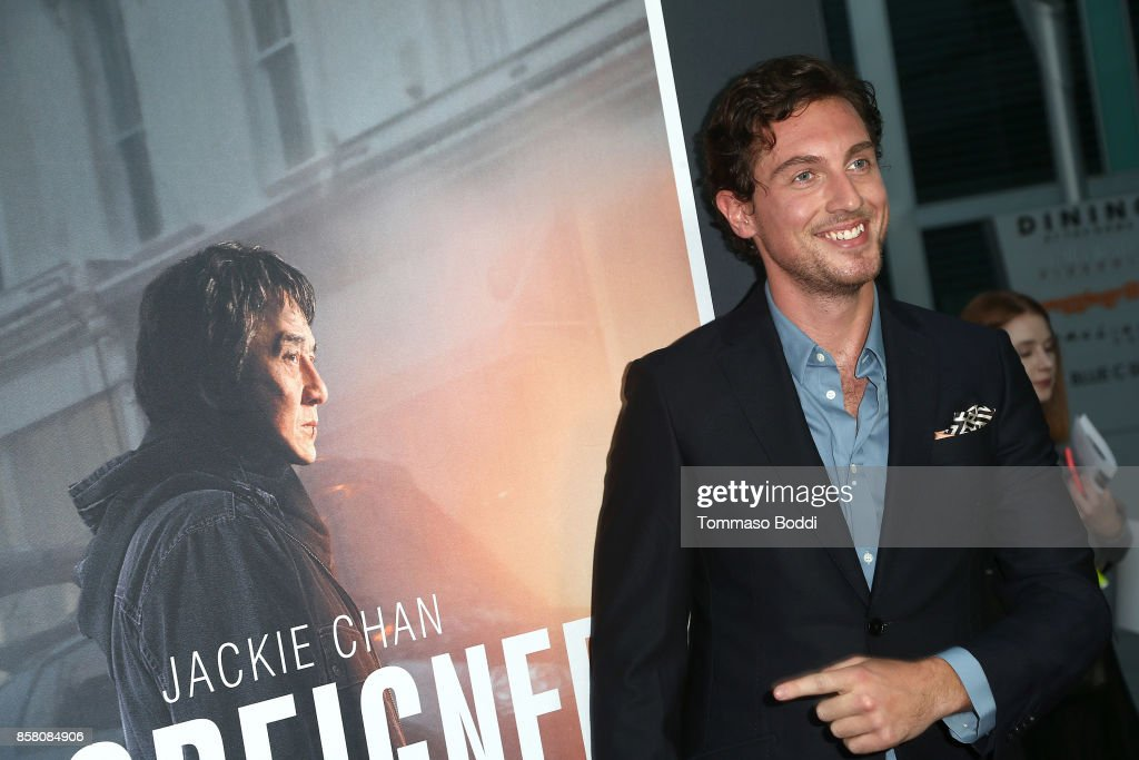 Rory Fleck Byrne attends the Premiere Of STX Entertainment's 'The Foreigner' at ArcLight Hollywood on October 5, 2017 in Hollywood, California.