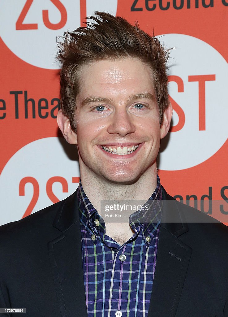 Rory James O'Malley attends 'Nobody Loves You' Opening Night After Party at HB Burger on July 18, 2013 in New York City.