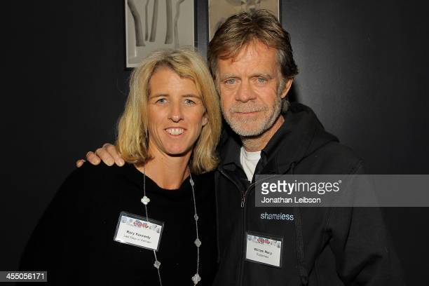 Rory Kennedy and William H Macy attend the Sundance Institute's Filmmaker Orientation And Alumni Reception LAat Palihouse on December 10 2013 in West...