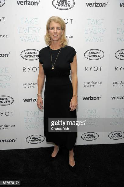Rory Kennedy attends 'Take Every Wave The Life Of Laird Hamilton' New York premiere at The Metrograph on October 4 2017 in New York City