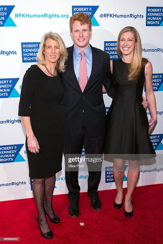 <a gi-track='captionPersonalityLinkClicked' href=/galleries/search?phrase=Rory+Kennedy&family=editorial&specificpeople=210525 ng-click='$event.stopPropagation()'>Rory Kennedy</a>, Joseph Kennedy III and Lauren Anne Birchfield attend the 2014 Robert F. Kennedy Ripple Of Hope Awards at the New York Hilton on December 16, 2014 in New York City.