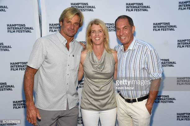 Rory Kennedy Laird Hamilton and guest attend The Hamptons International Film Festival SummerDocs Series Screening of TAKE EVERY WAVE THE LIFE OF...