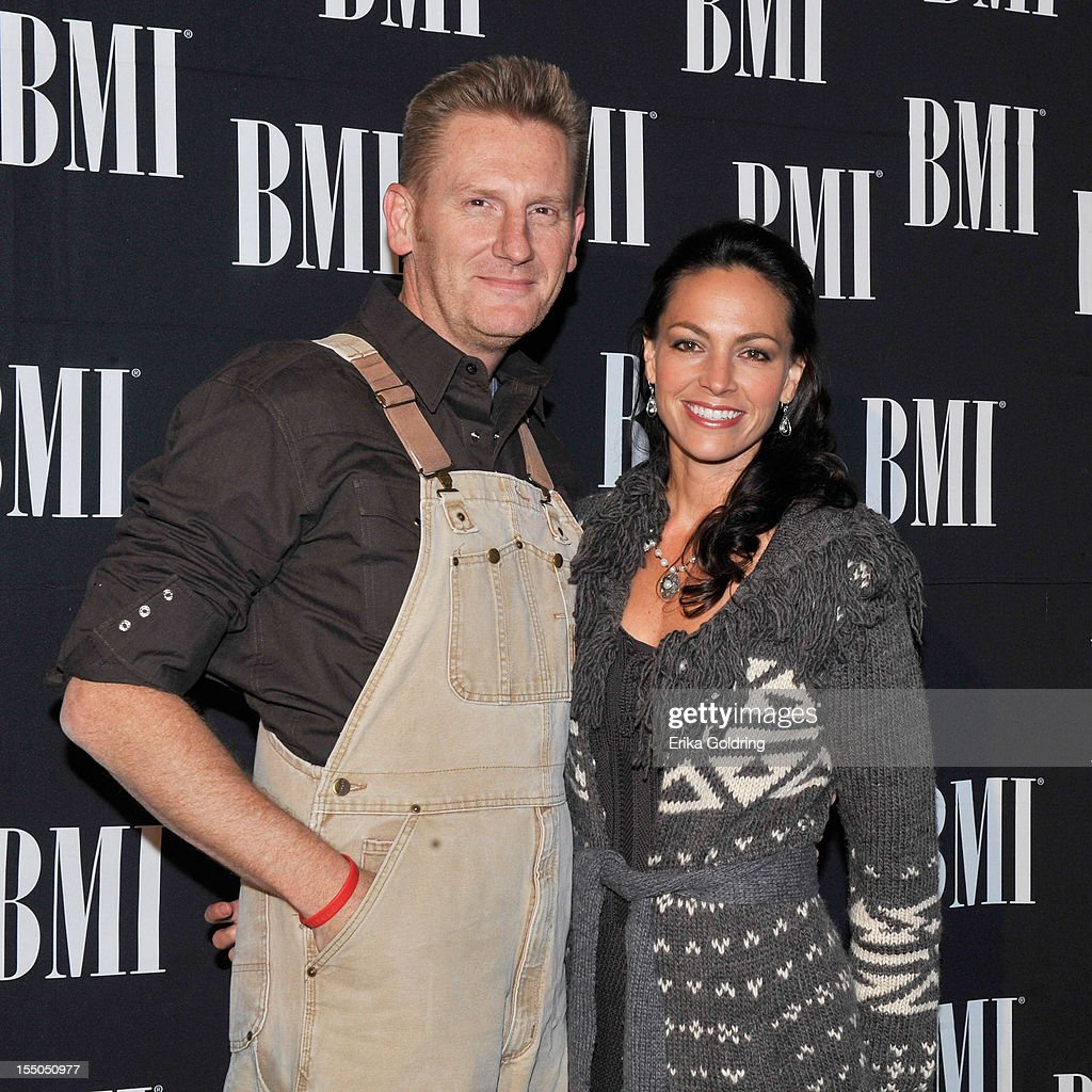 Rory Lee Feek and <a gi-track='captionPersonalityLinkClicked' href=/galleries/search?phrase=Joey+Martin+Feek&family=editorial&specificpeople=5796254 ng-click='$event.stopPropagation()'>Joey Martin Feek</a> attend the 60th annual BMI Country awards at BMI on October 30, 2012 in Nashville, Tennessee.
