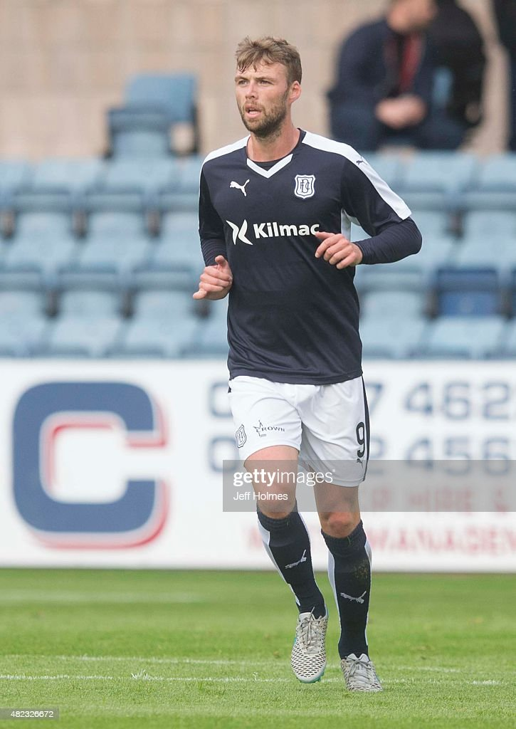 Rory Loy for Dundee at the Pre Season Friendly between Dundee and Everton at Dens Park on July 28th 2015 in Dundee Scotland