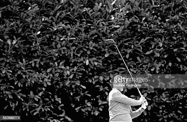 Rory McIlroy of Northern Ireland hits his tee shot on the 4th hole during the first round of the Dubai Duty Free Irish Open Hosted by the Rory...
