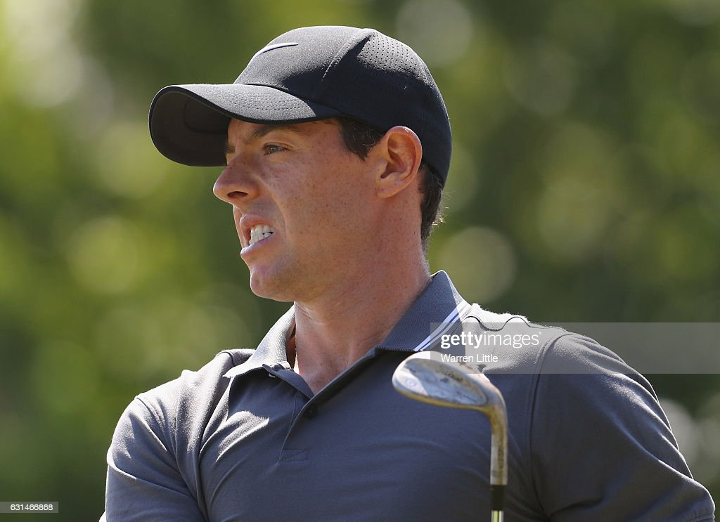 Rory McIlroy of Northern Ireland is pictured during previews ahead of the BMW South African Open at Glendower Golf Club on January 11, 2017 in Johannesburg, South Africa.