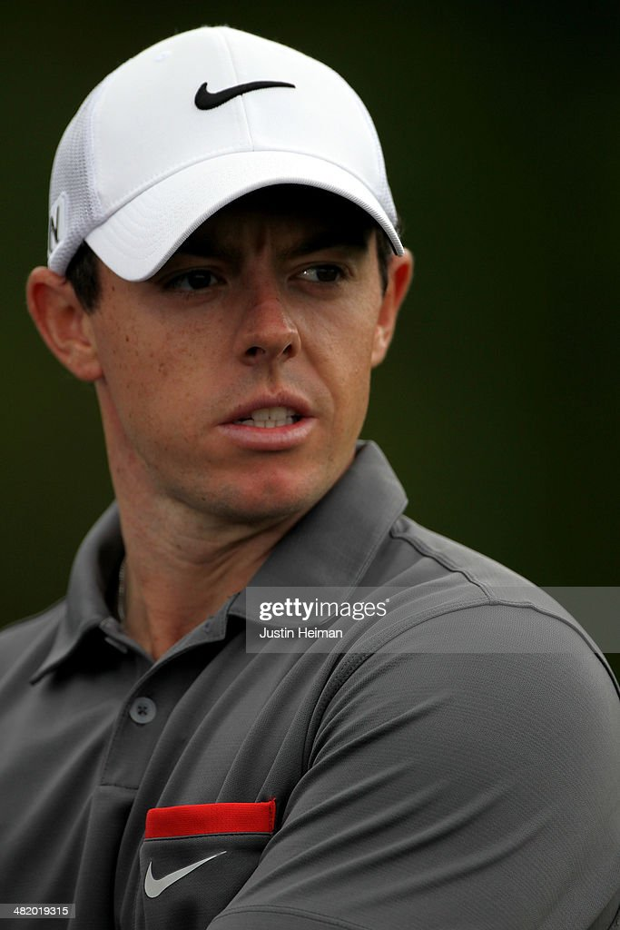 Rory McIlroy of Northern Ireland looks on during the pro-am prior to the start of the Shell Houston Open at the Golf Club of Houston on April 2, 2014 in Humble, Texas.
