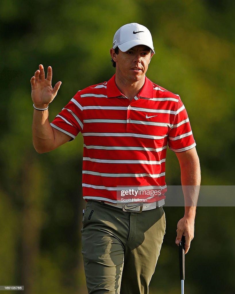 <a gi-track='captionPersonalityLinkClicked' href=/galleries/search?phrase=Rory+McIlroy&family=editorial&specificpeople=783109 ng-click='$event.stopPropagation()'>Rory McIlroy</a> of Northern Ireland makes birdie on the second hole during the third round of the Shell Houston Open at the Redstone Golf Club on March 30, 2013 in Humble, Texas.