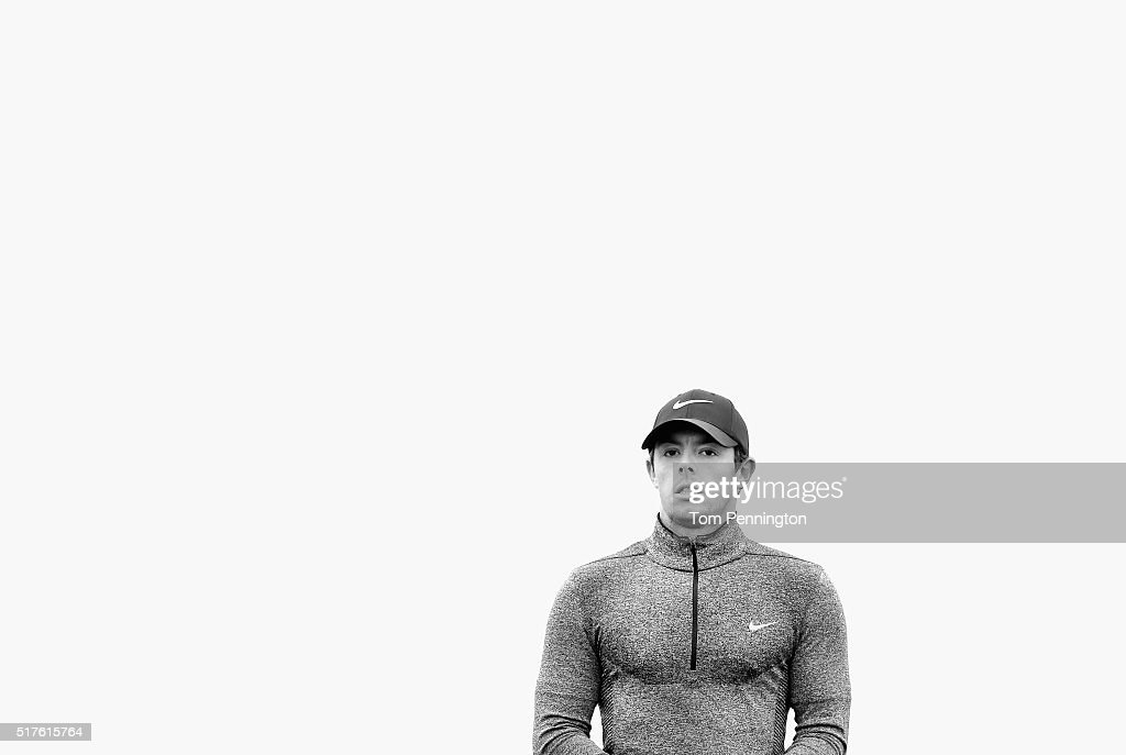 <a gi-track='captionPersonalityLinkClicked' href=/galleries/search?phrase=Rory+McIlroy&family=editorial&specificpeople=783109 ng-click='$event.stopPropagation()'>Rory McIlroy</a> of Northern Ireland waits on the seventh hole during the round of 16 in the World Golf Championships-Dell Match Play at the Austin Country Club on March 26, 2016 in Austin, Texas.