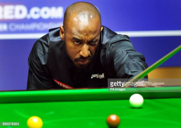 Rory McLeod against Mark King during Round One of the Snooker World Championship at the Crucible Sheffield PRESS ASSOCIATION Photo Picture date...