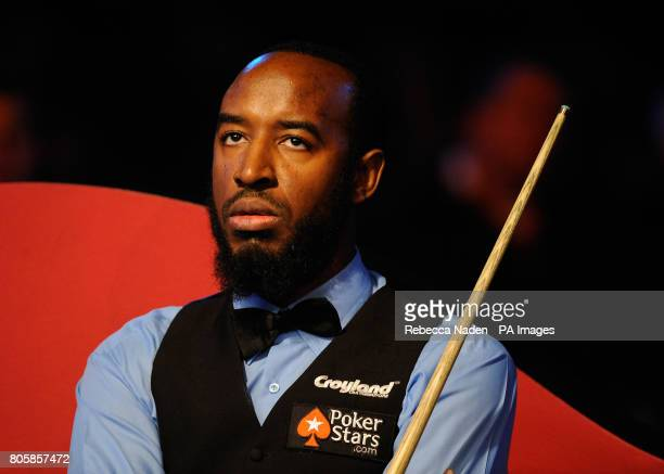 Rory McLeod during his match against Mark Williams