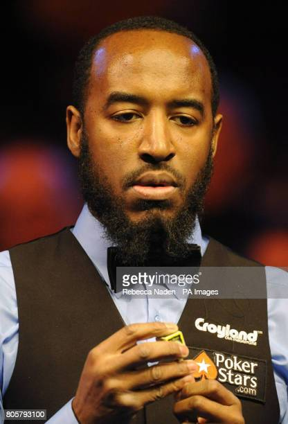 Rory McLeod during the The Masters at Wembley Arena London