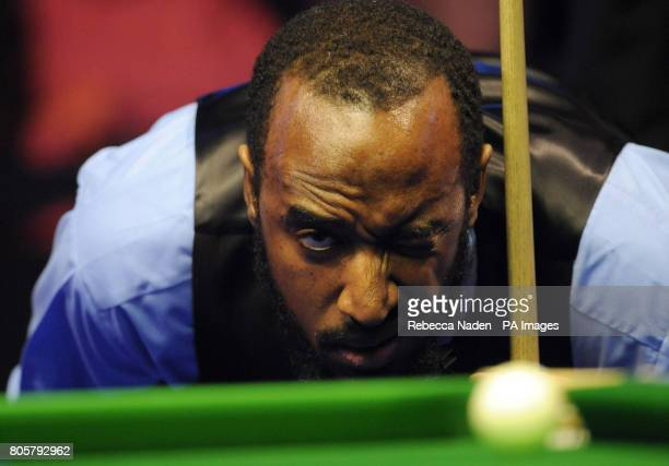 Rory McLeod in action during the The Masters at Wembley Arena London