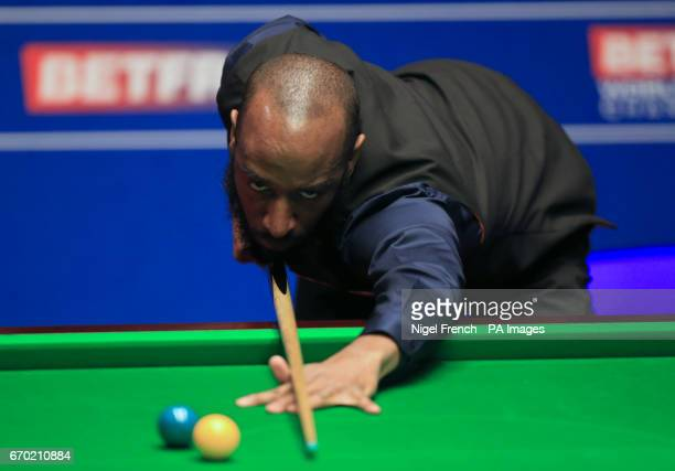 Rory McLeod on day five of the Betfred Snooker World Championships at the Crucible Theatre Sheffield PRESS ASSOCIATION Photo Picture date Wednesday...