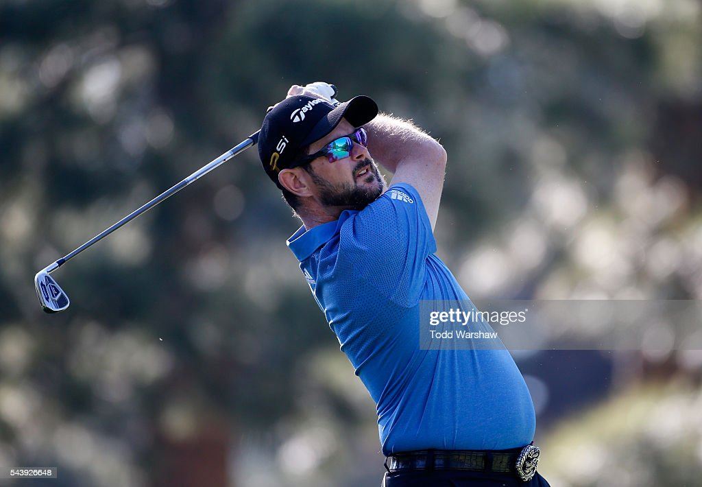 <a gi-track='captionPersonalityLinkClicked' href=/galleries/search?phrase=Rory+Sabbatini&family=editorial&specificpeople=207014 ng-click='$event.stopPropagation()'>Rory Sabbatini</a> of South Africa plays his shot from the third tee during the first round of the Barracuda Championship at the Montreux Golf and Country Club on June 30, 2016 in Reno, Nevada.