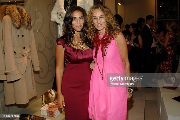 Rory Tahari and Ann DexterJones attend VOGUE and ELIE TAHARI host cocktails to celebrate TATIANA BONCOMPAGNI's new book GILDING LILY at Elie Tahari...