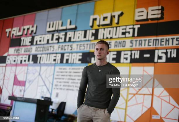 Rory Walsh who stayed up all night helping Grenfell Tower victims on the night of the fire and then sat an Alevel exam the next day near the scene of...