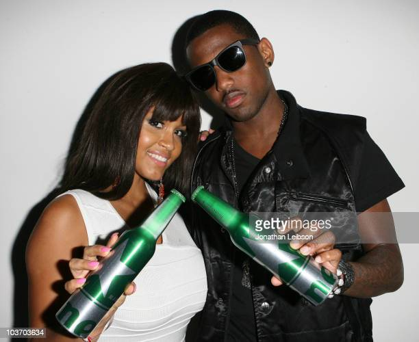 Rosa Acosta and Fabolous attend the 'Heineken Inspire' Concert Series on August 28 2010 in Culver City California