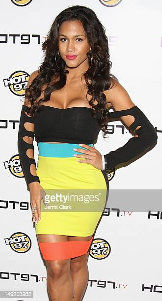 Rosa Acosta attends the Hot 97 TV 'Los Blancos' Premiere at Villa Pacri on July 24 2012 in New York City