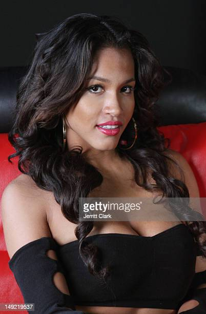Rosa Acosta visits the Hot 97 Studio on July 24 2012 in New York City