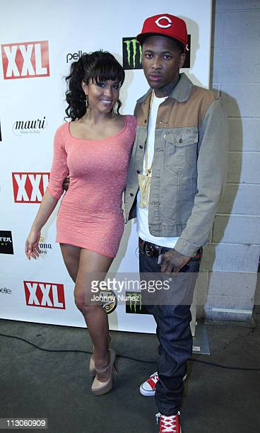 Rosa AcostaYG attend the official XXL 2011 Freshman Live Concert at BB King Blues Club Grill on March 22 2011 in New York City