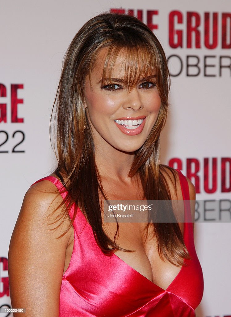 Rosa Blasi during 'The Grudge' Los Angeles Premiere - Arrivals at Mann ...