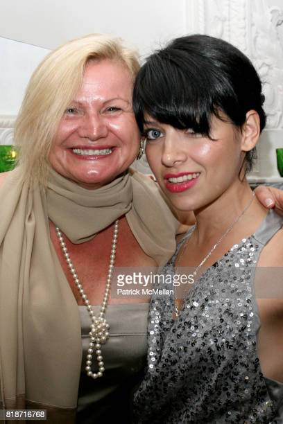Rosa Burns and Amy Kapnick attend The YOUNG PATRONS CIRCLE of AMERICAN FRIENDS Hosts SOIREE AU LOUVRE at Payne Whitney Mansion on June 3 2010