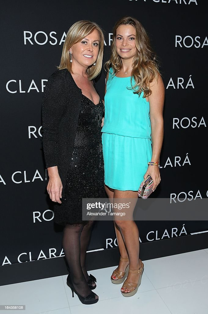 Rosa Clara and Carla Goyanes attend the grand opening of Rosa Clara store on March 22, 2013 in Coral Gables, Florida.