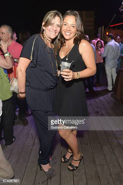 Rosa del la Torra and Alexandra Giroa attend Cigars Spirits Presented By Montage Hotels Resorts Brought To You By Cigar Aficionado And Whisky...