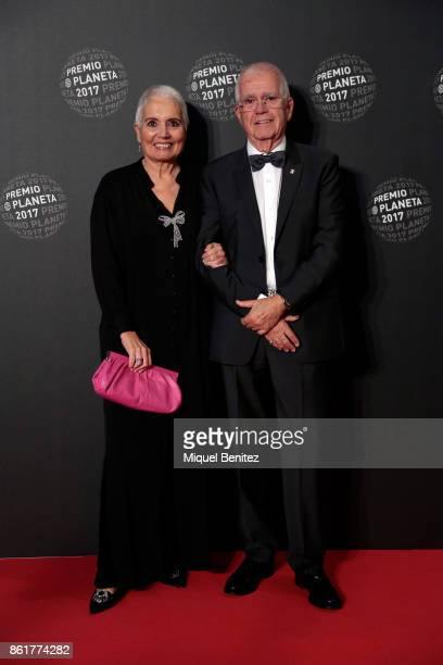 Rosa Oriol and Oriol Tous attend the '66th Premio Planeta' Literature Award the most valuable literature award in Spain with 601000 euros for the...