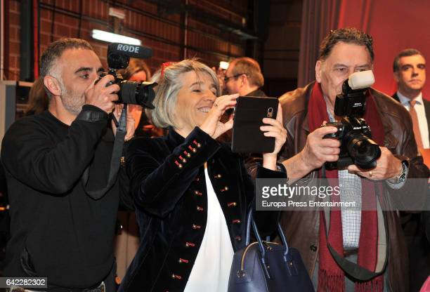 Rosa Palau attends the 20th Anniversary of the Tv contest 'Saber y Ganar' on February 16 2017 in Madrid Spain