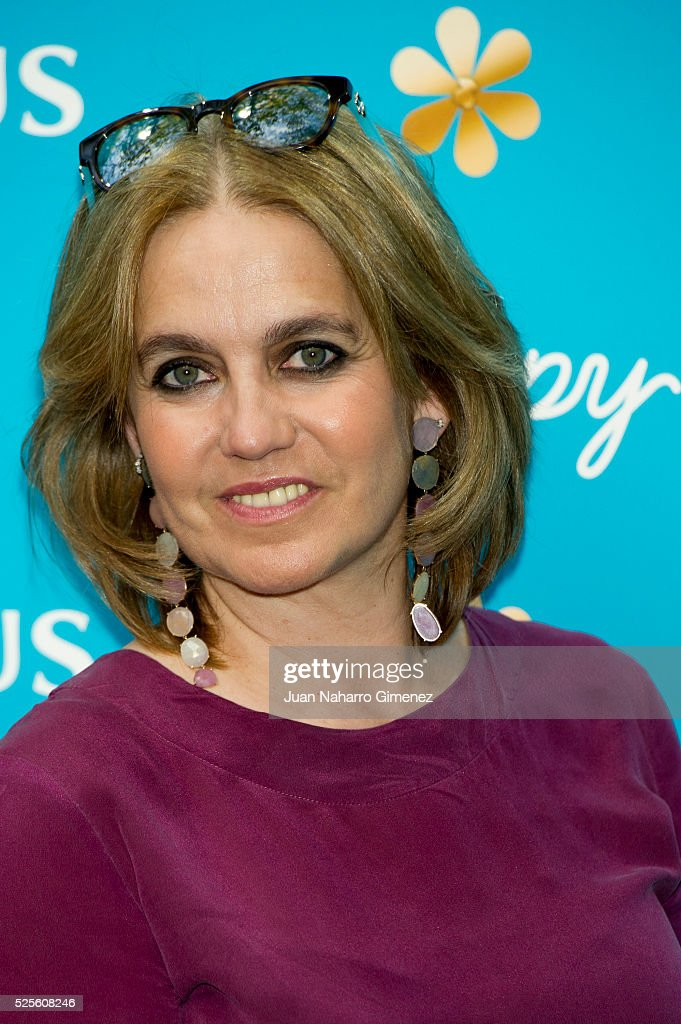 Rosa Tous attends Tous 'Happy' sunglasses presentation at Fortuny Restaurant on April 28, 2016 in Madrid, Spain.