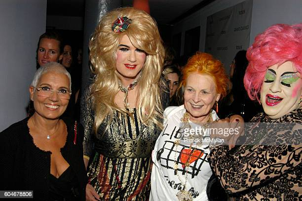 Rosa Tous Brenda A GoGo Vivienne Westwood and Brandy Wine attend GRAND CLASSICS Incident at Oglala Screening Hosted by Vivienne Westwood Sponsored by...