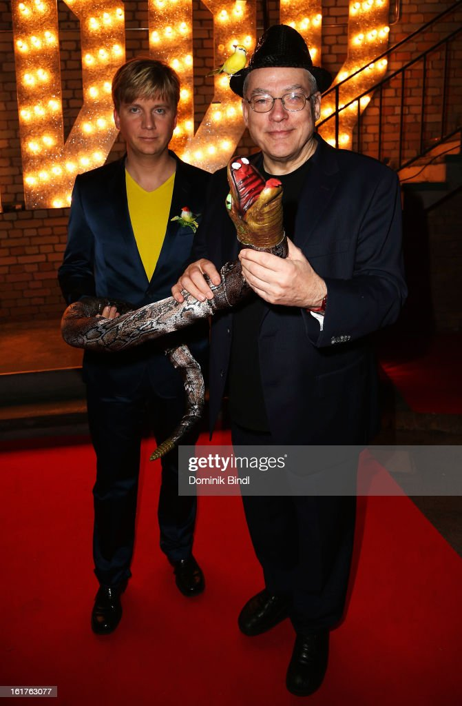 Rosa von Praunheim and Oliver Sechting attend the Teddy Award during the 63rd Berlinale International Film Festival at Station Berlin on February 15, 2013 in Berlin, Germany.