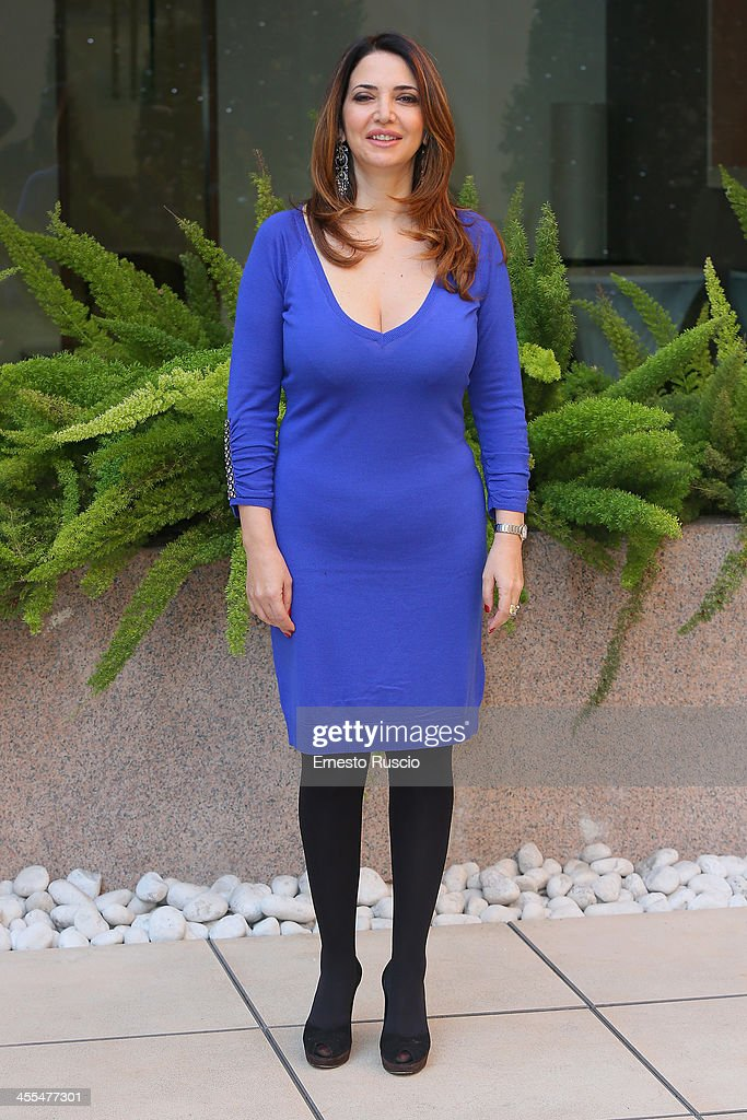 Rosalia Porcaro attends the 'Indovina Chi Viene A Natale' Photocall at Hotel Visconti on December 12, 2013 in Rome, Italy.