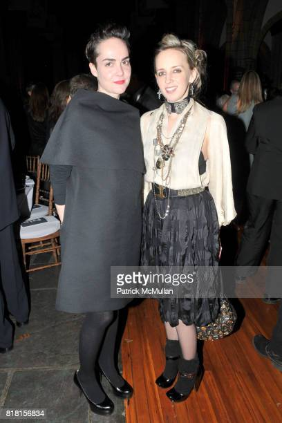 Rosalie Benitez and Hope Atherton attend DIA ART FOUNDATION Fall Gala 2010 at Hispanic Society of America and Church of the Intercession on November...