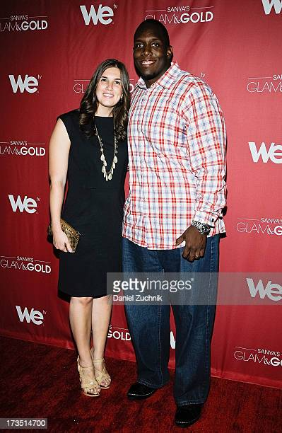 Rosalie Boothe and Kevin Boothe attend 'Sanya's Glam And Gold' Series Premiere at the Gansevoort Hotel on July 15 2013 in New York City
