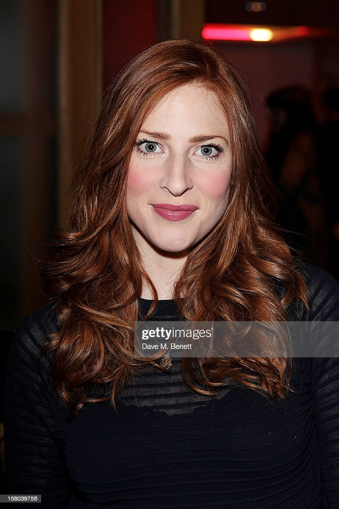 Rosalie Craig attends an after party celebrating the 24 Hour Musicals Gala Performance at Vinopolis on December 9, 2012 in London, England.