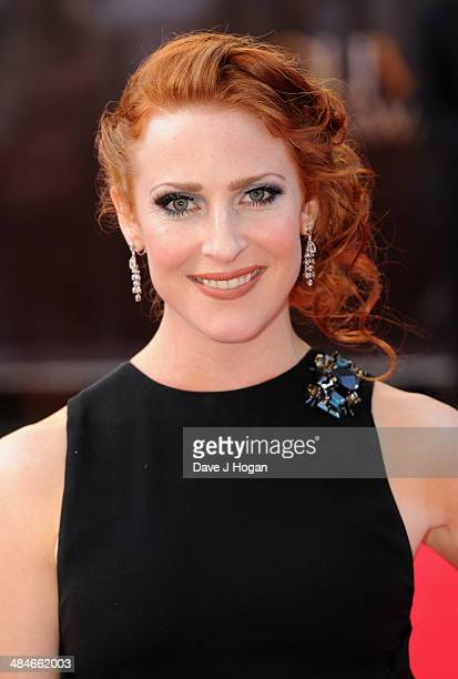Rosalie Craig attends the Laurence Olivier Awards at the Royal Opera House on April 13 2014 in London England