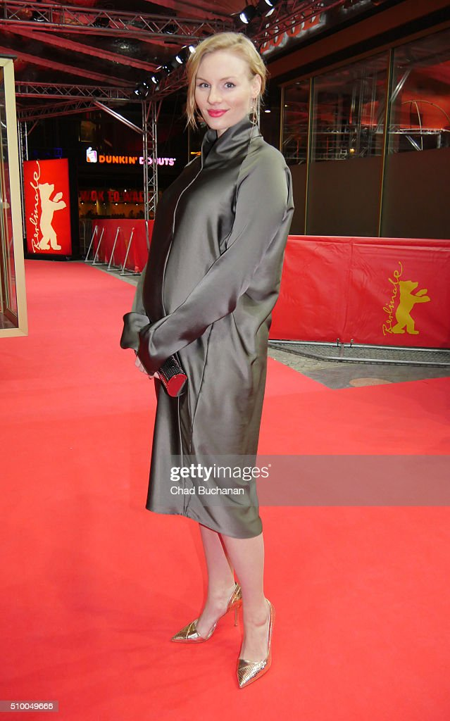 Rosalie Thomass attends the 'Gruesse aus Fukushima' (Fukushima, Mon Amour) premiere during the 66th Berlinale International Film Festival Berlin at Zoo Palast on February 13, 2016 in Berlin, Germany.