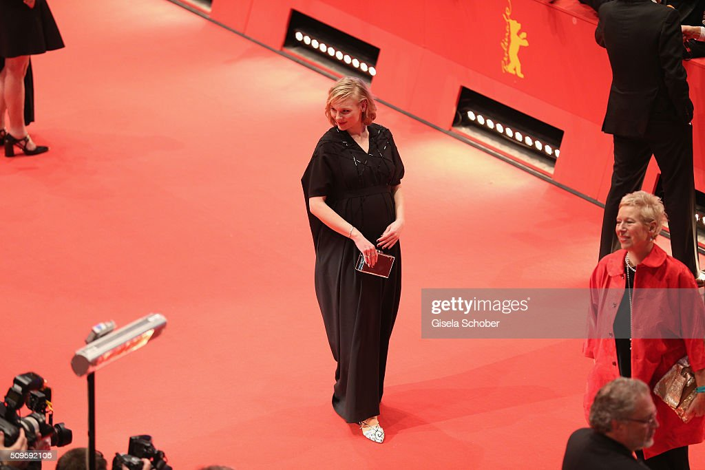 Rosalie Thomass attends the 'Hail, Caesar!' premiere during the 66th Berlinale International Film Festival Berlin at Berlinale Palace on February 11, 2016 in Berlin, Germany.